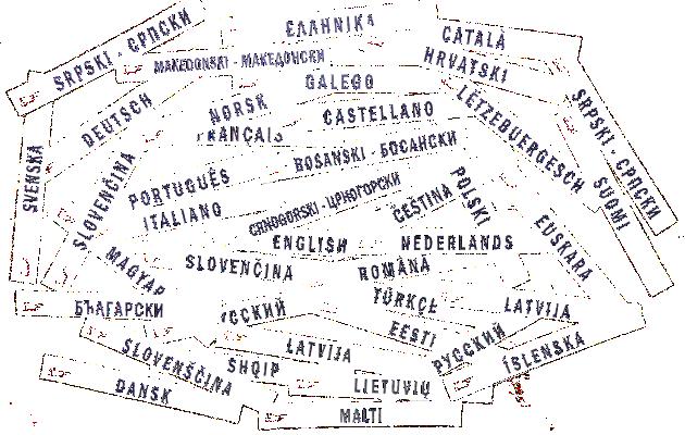 Tous les noms de langues